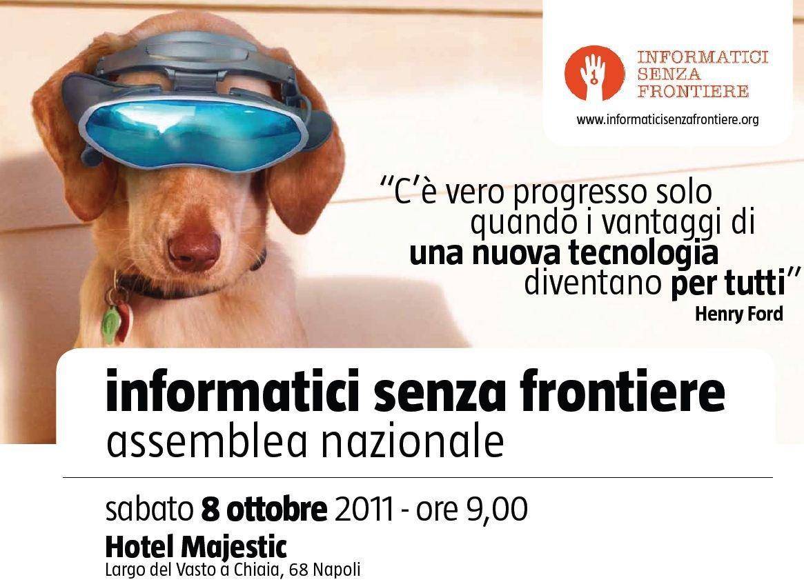 """""""Informatici Senza Frontiere"""": l'Assemblea Nazionale a Napoli [EVENTO]"""