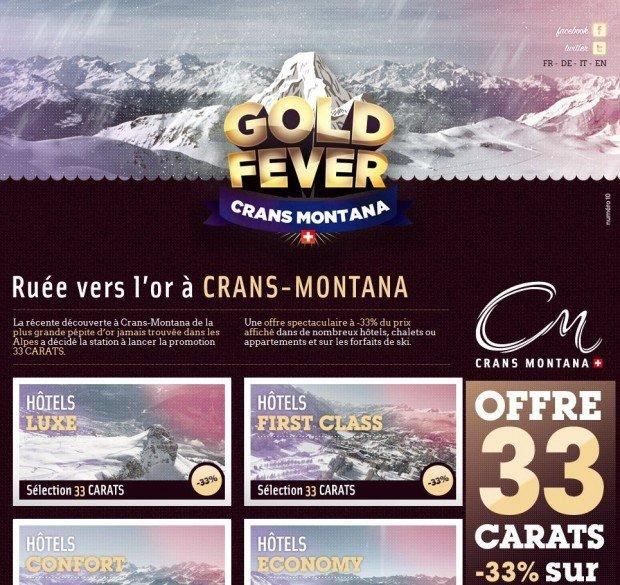 L'oro a Crans-Montana, tra marketing turistico e guerrilla [CASE STUDY]