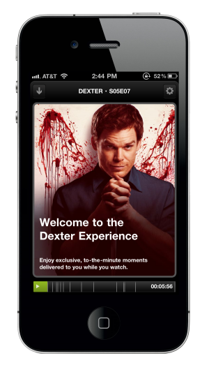 Dexter Experience: Miso e la Social TV in sync