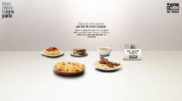 Experimento Comparte: una campagna contro la fame [VIDEO]