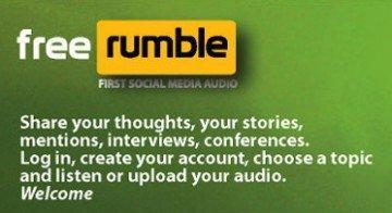 Free Rumble, il social network per non vedenti