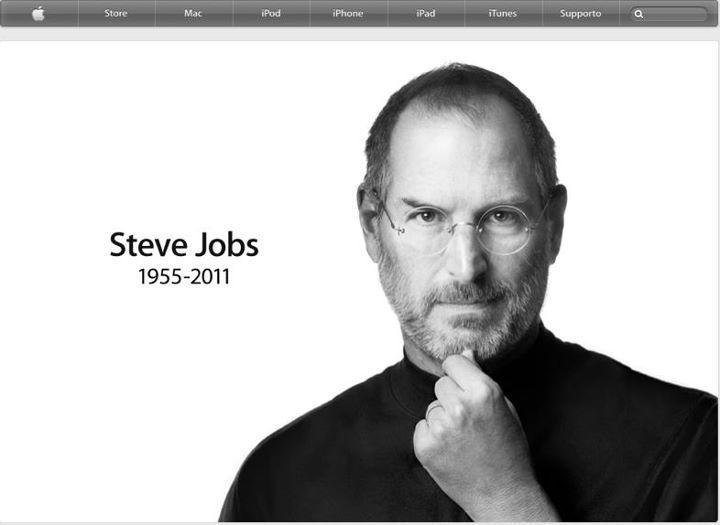 Grazie Steve. I nostri pensieri dedicati a Steve Jobs