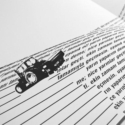 Le sperimentazioni tipografiche di Furkan Sener