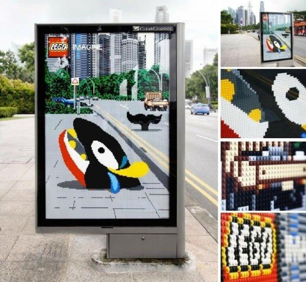 LEGO, 20+ pubblicità creative