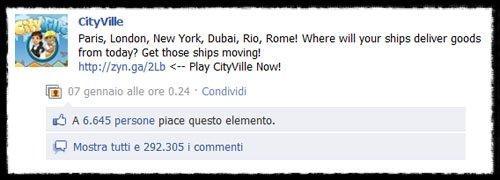 Il post di Facebook con più commenti al mondo è italiano