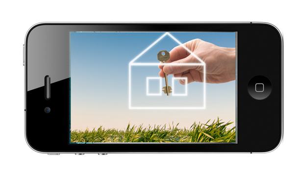 Trova casa con un'app!