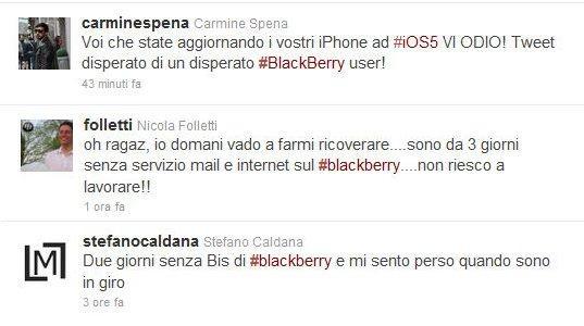 Tweet BLackBerry