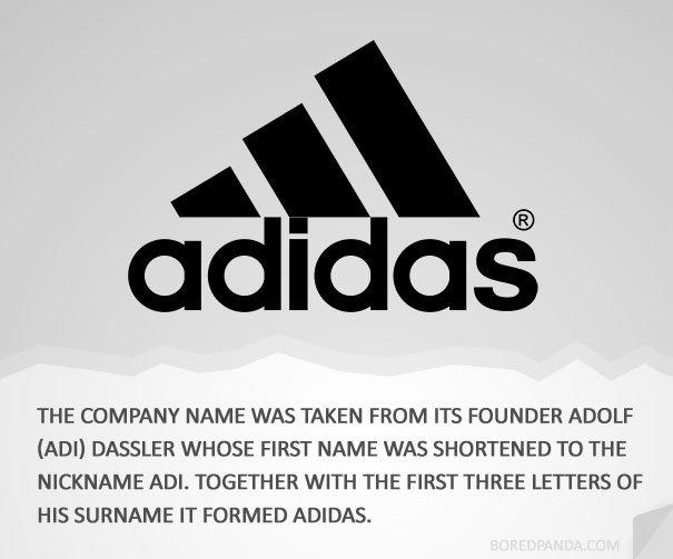pavo Incentivo cicatriz  L'origine dei nomi dei brand più famosi
