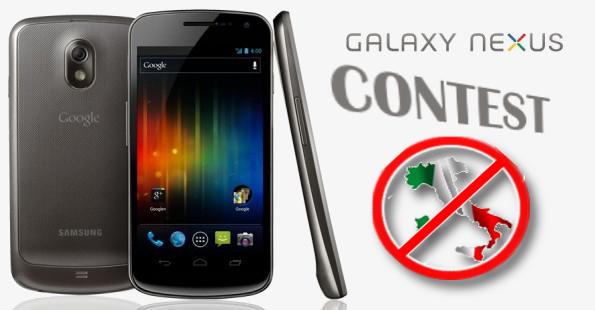 Google mette in palio 10 Galaxy Nexus ma non in Italia