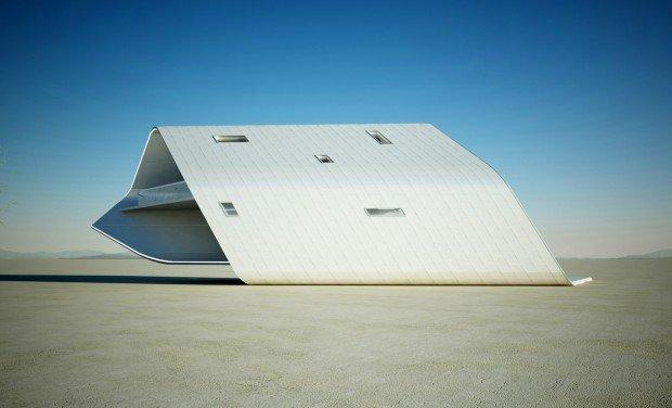 La casa nel deserto: meraviglia tecnologica!