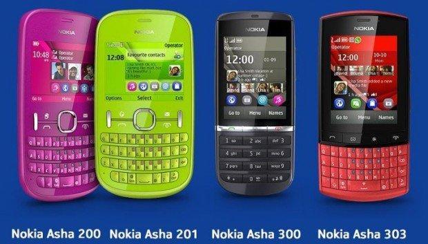 """Nokia """"low cost"""" con la nuova serie Asha"""