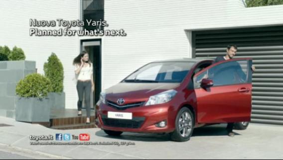 La campagna Toyota Yaris con una video experience deludente