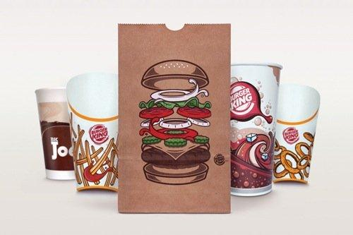 Burger King si rifa il packaging