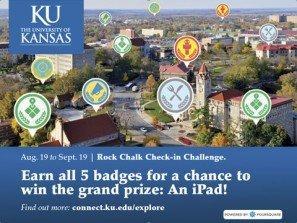 4sqOnCampus: una sfida a colpi di check-in all'Università del Kansas