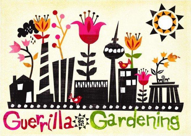 Dal 4 al 6 novembre che il Guerrilla Gardening abbia inizio! [EVENTO]