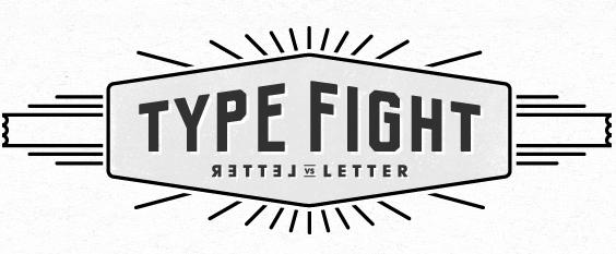 TypeFight: i creativi si scontrano a colpi di font!