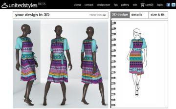 UnitedStyles: crea i tuoi capi come un vero fashion designer