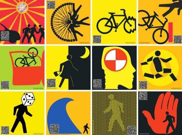 Curbside Haiku, la street art incontra poesia e sicurezza stradale