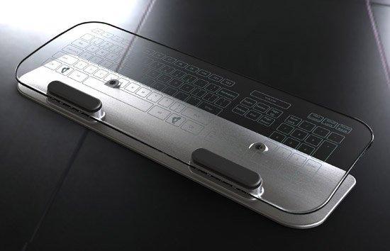 La tastiera di vetro diventerà realtà?
