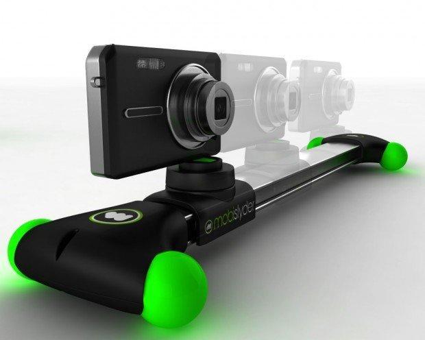 MobiSlyder: lo steadicam scorrevole per i vostri device