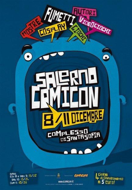 Salerno COMICON, un nuovo appuntamento coi fumetti [EVENTO]
