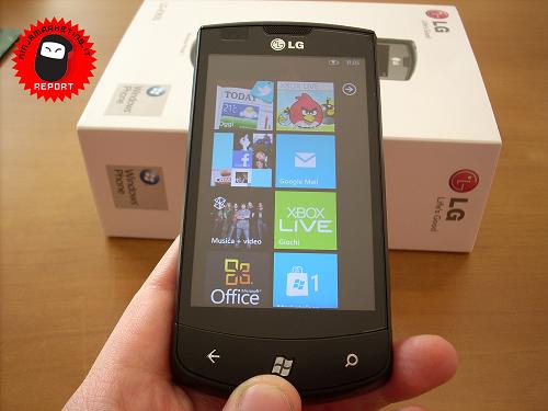 Windows Phone Mango: le prestazioni alla prova su LG Optimus 7! [NINJA REVIEW]