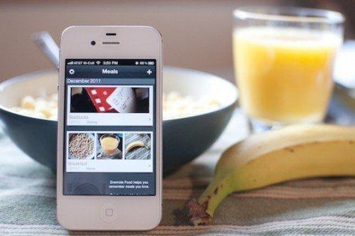 Evernote food: la migliore app per catalogare ricette sul proprio iPhone