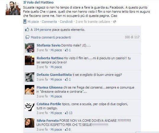 Fabio Volo molla Facebook. Siete contenti? E soprattutto perché?