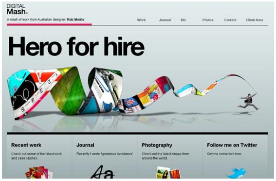 I 5 trend del Web Design per il 2012