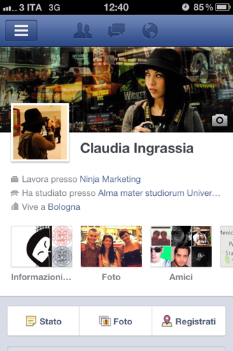 La timeline di Facebook ora è anche su iPhone!