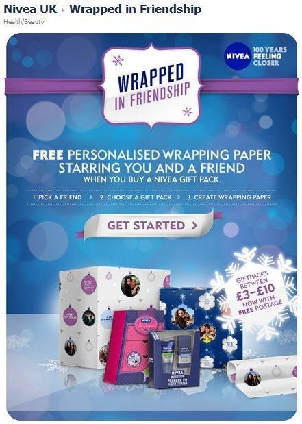 Nivea UK lancia la campagna natalizia con una nuova applicazione su Facebook