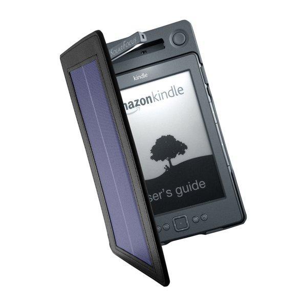 Cover con pannello solare per il Kindle di Amazon
