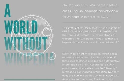 Un mondo senza Wikipedia [INFOGRAFICA]