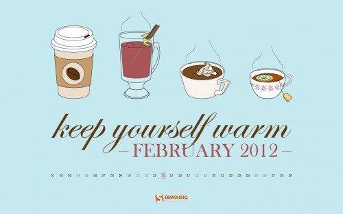 Un calendario sul desktop: 10 sfondi creativi per Febbraio