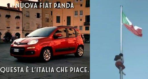 """Fiat Panda e UniCredit, gli spot """"salva-Italia"""""""