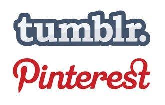 Tumblr e Pinterest a confronto [INFOGRAFICA]
