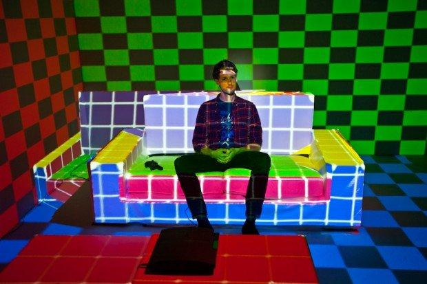 Sony PlayStation 3 sperimenta il realtime projection mapping