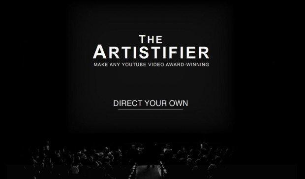 The Artistifier: i video di Youtube come nel film The Artist