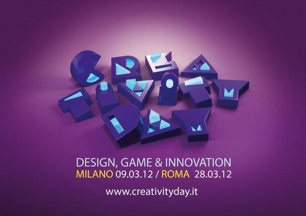 Creativity Day 2012: Graphic e web designer si svelano a Milano e a Roma! [EVENTI]