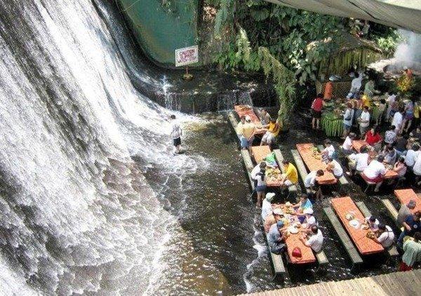 Ristorante green&estremo: Labassin Waterfall Restaurant