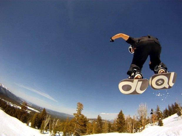 Due piedi? Due snowboard, easy!
