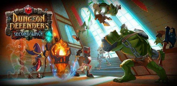 I migliori giochi Android per tablet Tegra: DUNGEON DEFENDERS, Second Wave