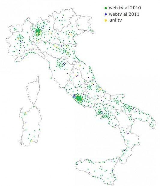 Il rapporto Netizen 2012 fotografa lo stato delle Web tv in Italia