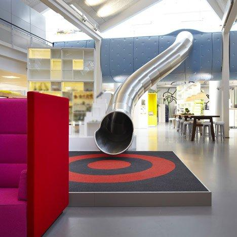 LEGO: interior design creativo e stimolante per la sede di Billund