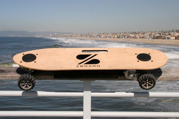 Lo skateboard elettrico: Zboard!