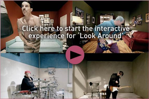 Look around: l'interactive video firmato Red Hot Chili Peppers