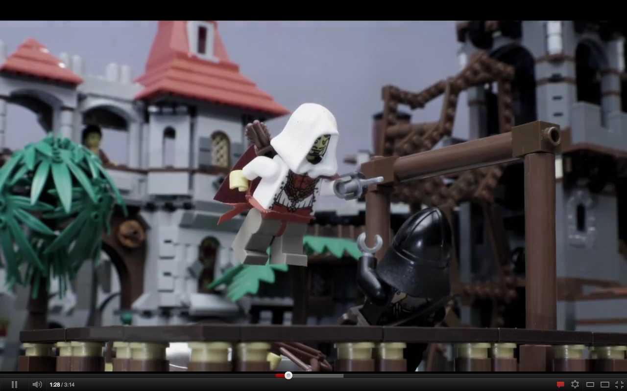 Lego videogame montage: i 15 migliori giochi del 2011 in stop-motion [VIDEO]