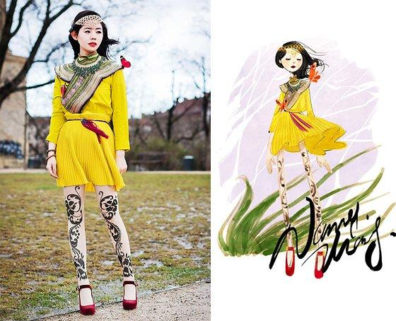 Nancy Zhang: la fashion blogger che trasforma gli outfit in arte