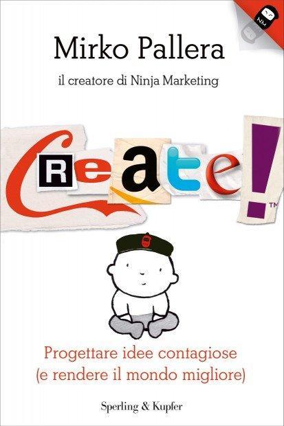 Partecipa al Ninja Candy e vinci una copia del libro Create!