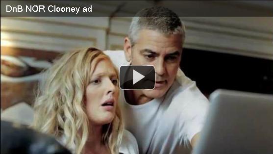 "La banca norvegese DNB ""canta"" e mette in scena Clooney!"
